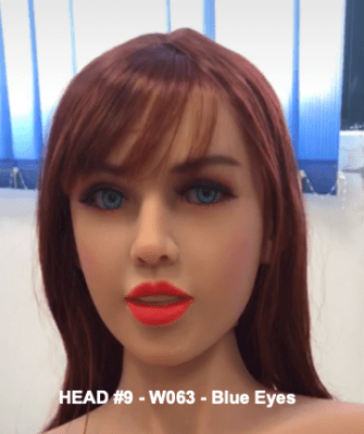 Head 9 – Brown W063 – Blue Eyes